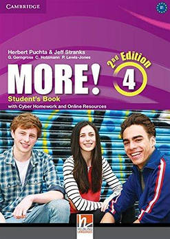 More! Second Edition 4 student's Book with Cyber Homework and Online Resources