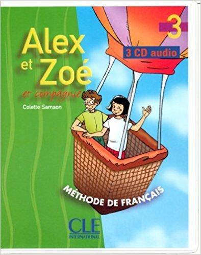 Alex et Zoe 3 CD audio pour la classe