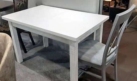 Стол обеденный   Классик Люкс  120 fn (белый,  ваниль RAL1013, бежевый RAL1015    ), фото 2