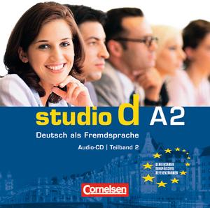 Studio d  A2 Teil 2 (7-12) CD