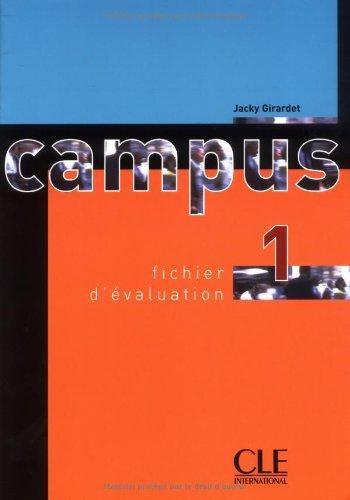 Campus 1 Fichier d'evaluation