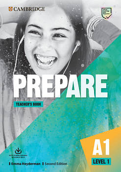 Cambridge English Prepare! 2nd Edition Level 1 Teacher's Book with Downloadable Resource Pack