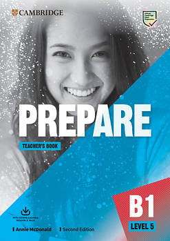 Cambridge English Prepare! 2nd Edition Level 5 Teacher's Book with Downloadable Resource Pack