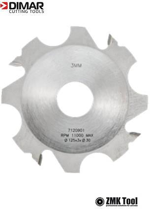 Фреза насадна DIMAR пазова 4х32 мм D=125 d=30 B=4 Z4, фото 2