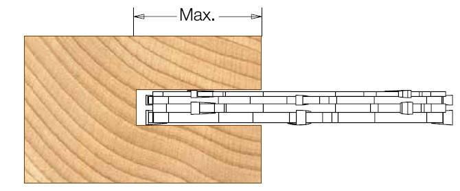 Фреза насадная DIMAR пазовая 4х32 мм D=125 d=30 B=4 Z4, фото 2