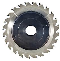 Фреза насадна DIMAR для пазування з можливістю регулювання від 3 до 6 мм D=160 d=30 B=3-6 Z24, фото 3