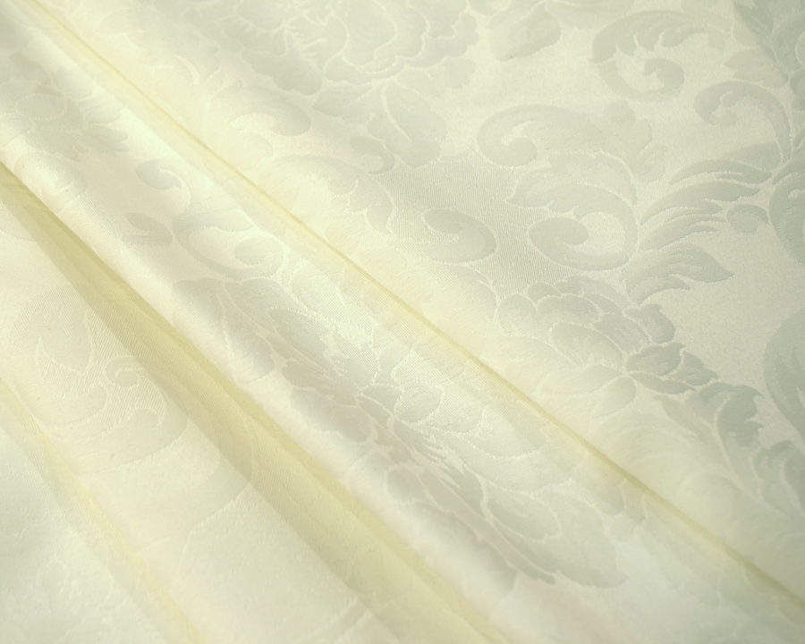 Ткань Скатертная TS-360354 Цветы 360см Шампань Италия