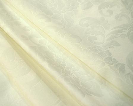 Ткань Скатертная TS-360354 Цветы 360см Шампань Италия, фото 2