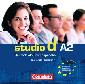 Studio d  A2 Teil 1 (1-6) CD