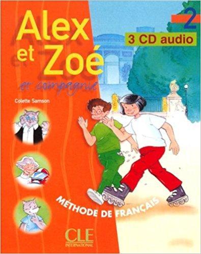 Alex et Zoe 2 CD audio pour la classe