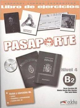 Pasaporte 4 (B2) Libro del ejercicios + CD audio