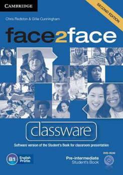 Face2face 2nd Edition Pre-intermediate Classware DVD-ROM
