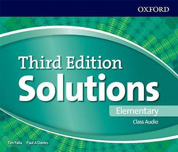 Solutions 3rd Edition Elementary Class Audio CDs (4)
