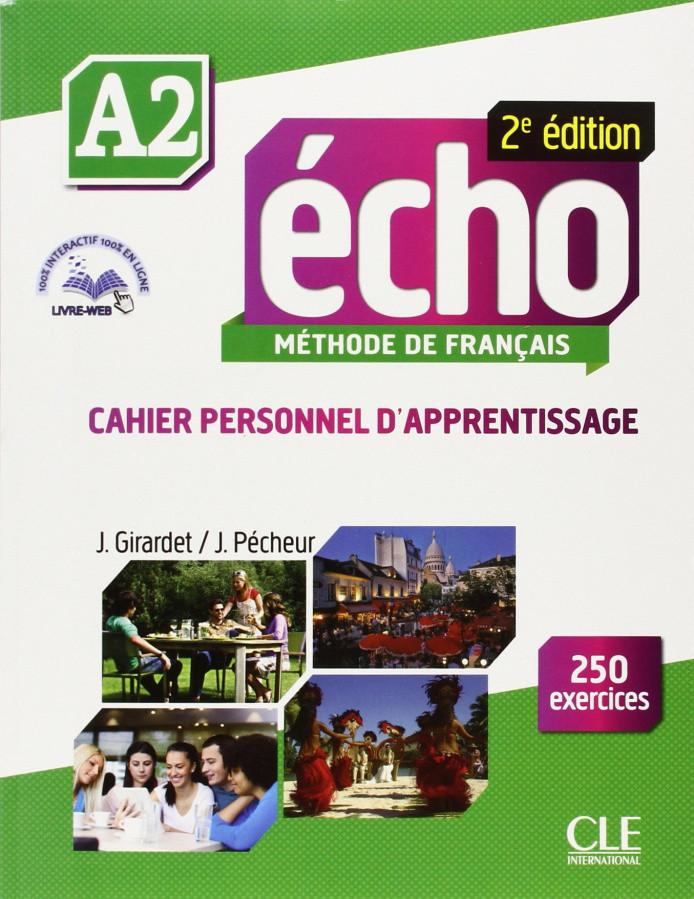 Echo 2e édition A2 Cahier d exercices + CD audio + livre-web