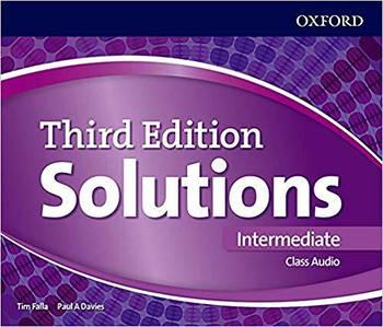 Solutions 3rd Edition Intermediate Class Audio CDs (4)
