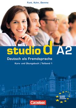 Studio d  A2 Teil 1 (1-6) Kurs- und Ubungsbuch mit CD
