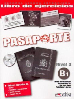 Pasaporte 3 (B1) Libro del ejercicios + CD audio