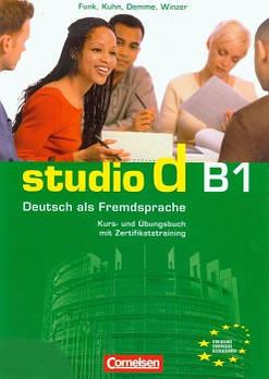 Studio d  B1/2 Kurs- und Ubungsbuch mit CD