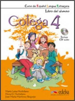 Colega 4 Libro del alumno + CD Pack