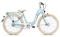 Детский велосипед Puky SKYRIDE 24-3 LIGHT для девочек и подростков от 8 лет, на рост 130-160 см