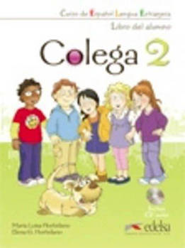 Colega 2 Libro del alumno + CD Pack