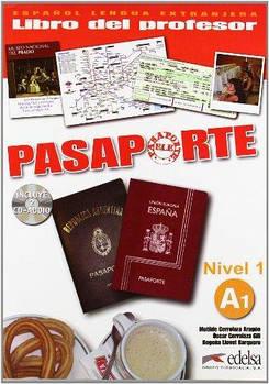 Pasaporte 1 (A1) Libro del profesor + CD audio