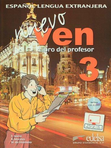 Nuevo Ven 3 Libro del profesor + CD audio GRATUITA