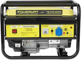 Генератор бензиновый PowerMat PM-AGR 3 кВт однофазный