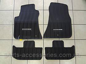 Dodge Challenger 2011-15 коврики резиновые передние задние новые оригинал комплект
