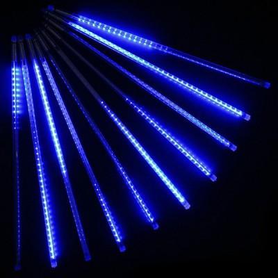 Светодиодная гирлянда Тающие сосульки, 192 Led электрическая синяя 3,5 м