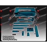 Набор гидравлического оборудования для кузовных работ, 20т, 9пр(насос, цилиндр + комплект удлинителей и надста