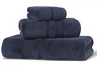 Банное махровое полотенце 70х140 Hamam PERA NAVY