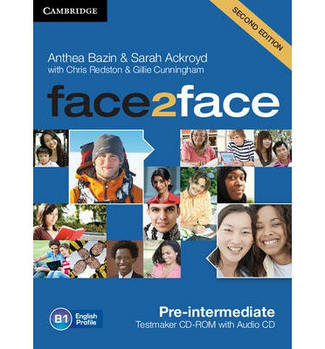 Face2face 2nd Edition Pre-intermediate Testmaker CD-ROM and Audio CD