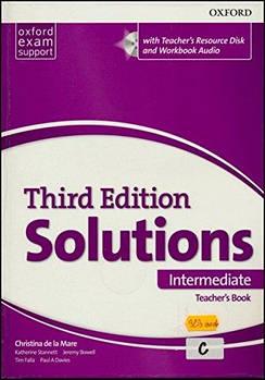 Solutions 3rd Edition Intermediate Essentials teacher's Book & Resource Disc Pack