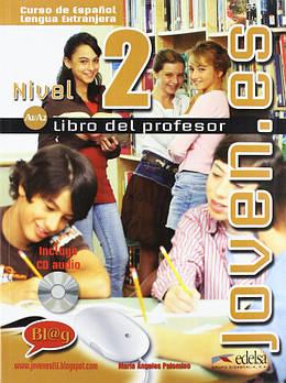 Joven.es 2 (A1-A2) Libro del profesor + CD audio GRATUITA