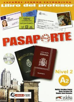 Pasaporte 2 (A2) Libro del profesor + CD audio GRATUITA