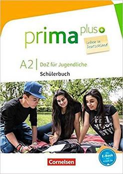 Prima plus A2 Leben in Deutschland Schülerbuch mit MP3-Download