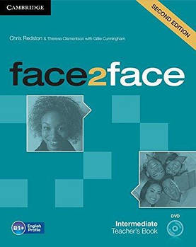 Face2face 2nd Edition Intermediate Teacher's Book with DVD
