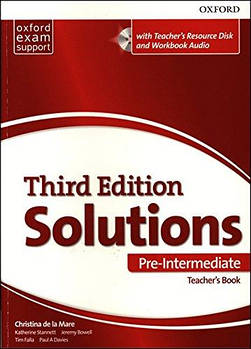 Solutions 3rd Edition Pre-Intermediate Essentials Teacher's Book & Resource Disc Pack