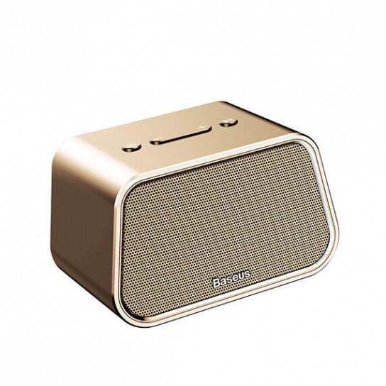 Портативная Bluetooth колонка Baseus E02 Encok gold