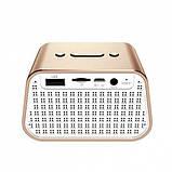 Портативная Bluetooth колонка Baseus E02 Encok gold, фото 2