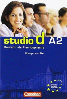 Studio d  A2 Ubungsbooklet zum  Video 10er-Pack