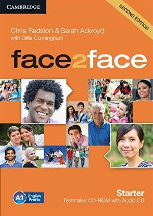 Face2face 2nd Edition Starter Testmaker CD-ROM and Audio CD