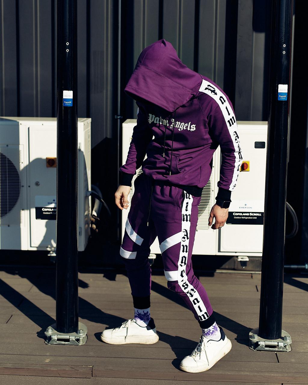 Спортивний костюм Palm Angels Espo фіолетовий