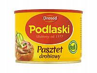 Паштет куринный Podlaski Pasztet drobiowy Drosed (Польша)