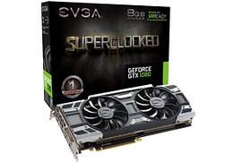 Видеокарта EVGA GeForce GTX 1080 Superclocked 8GB GDDR5X (08G-P4-6183-KR)