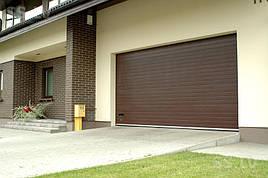 Гаражные ворота (секционные)2000*2125 Алютех серии TREND.