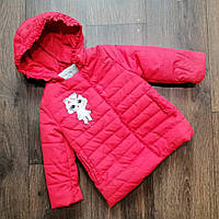 Легкая куртка 68 - 92 для девочки с лол. Детская демисезонная модная весенняя курточка