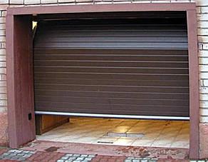 Гаражные ворота(секционные) 3125*2500 Алютех серии TREND., фото 2
