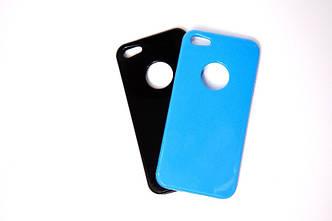 Гибкий прозрачный TPU чехол-накладка для iPhone 6